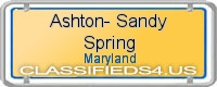Ashton-Sandy Spring board